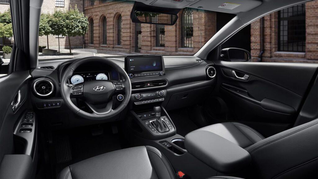 Hyundai Kona iç tasarım