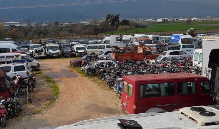 Hatay'da Arabalar Çürümeye Terk Edildi… Değeri 80 Milyon TL