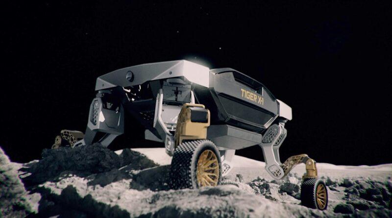 """Hyundai'nin Yeni Robotik Arabası """"TIGER-X1"""" Başka Bir Gezegenin Yüzeyinde Gidebilir ve Yürüyebilir."""