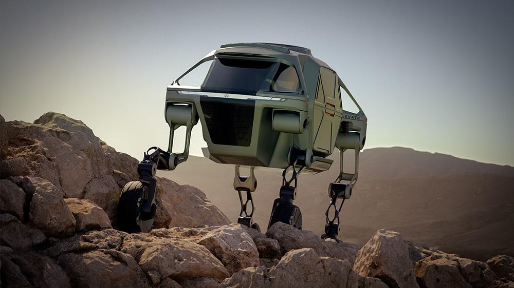 Hyundai'nin Robotik Aracı TIGER