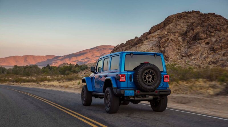 """Jeep Wrangler Rubicon 392 Kendi Kulvarında """"En Pahalı Araç"""" Olarak Piyasaya Çıkıyor"""
