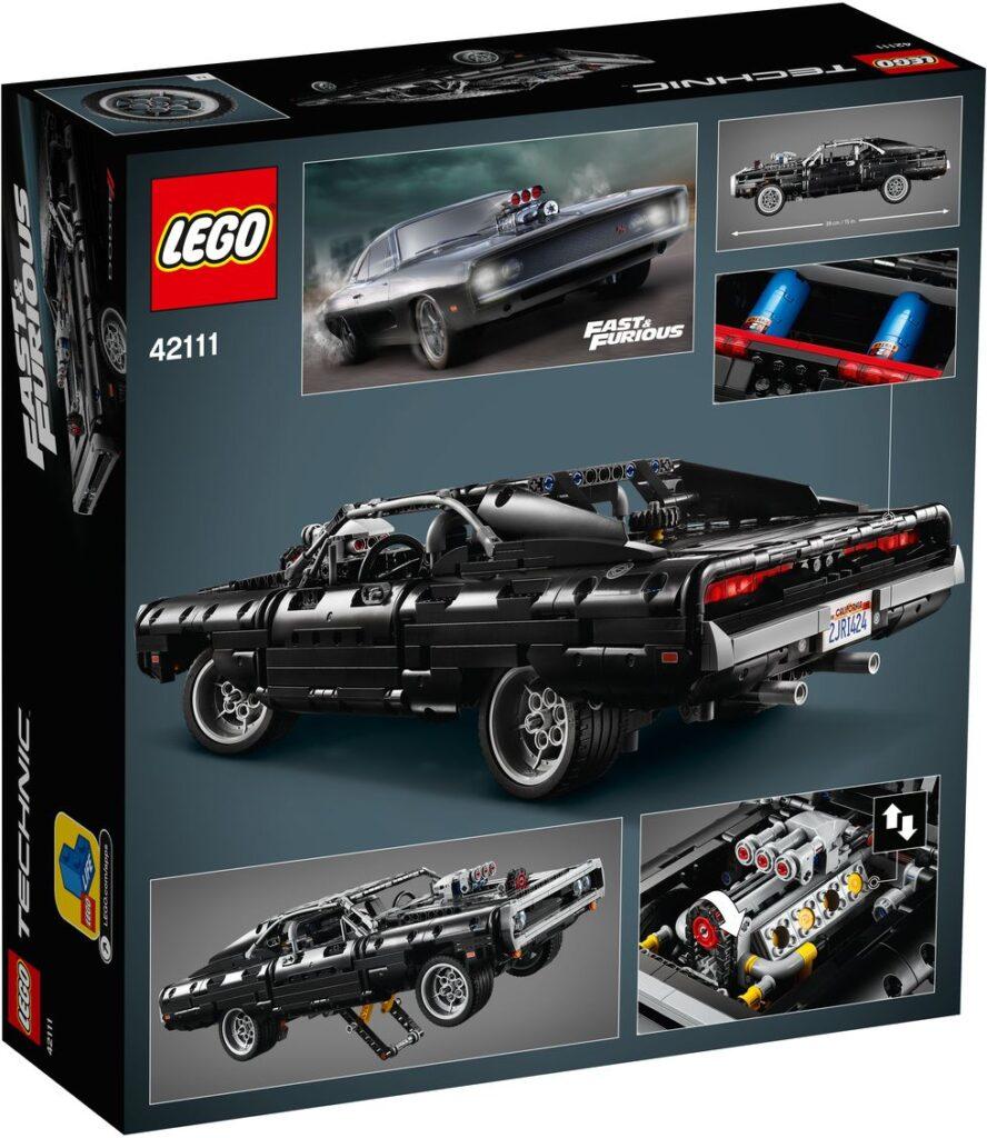 Hızlı ve Öfkeli'deki Dodge Charger Lego Kiti