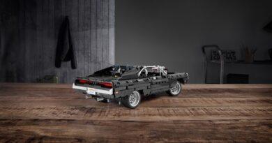 Hızlı ve Öfkeli'deki Dodge Charger Lego Kiti Tam 1077 Parça