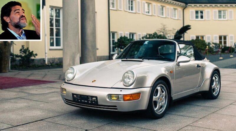 Diego Maradona'nın Nadir Porsche 911 Convertible'ı Açık Artırmada Satışa Sunuluyor