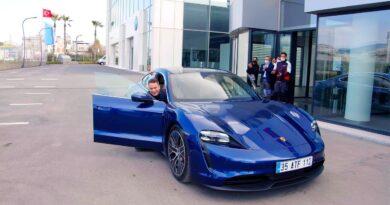 """Burcu Erenkul'dan Porsche'nin satış danışmanlarına """"acemi şoför"""" şakası"""