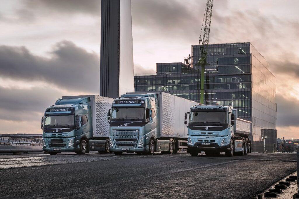 Volvo Elektrikli Tırları