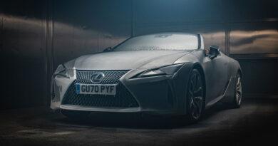 Lexus LC Convertible Zorlu Testlerden Başarıyla Geçti