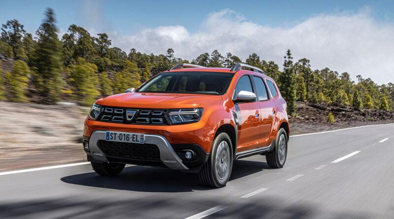 Yenilenen Dacia Duster