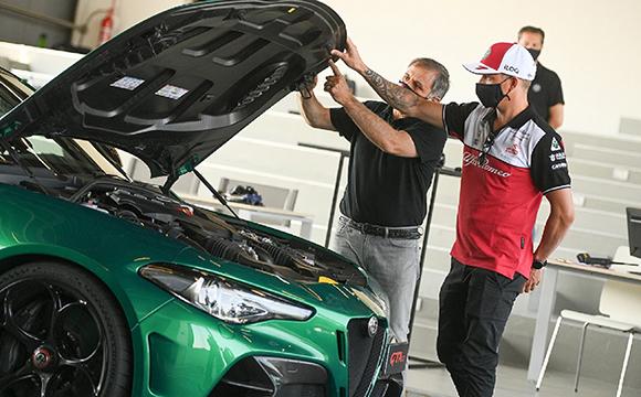 Giulia GTA'ya Räikkönen Dokunuşu