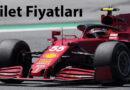 İşte Formula 1 Bilet Fiyatları