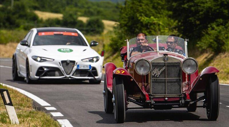 Alfa Romeo'dan Mille Miglia