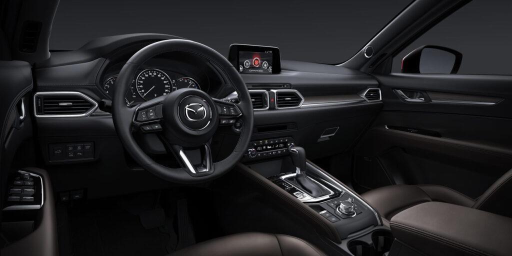 Mazda CX-5 iç tasarımı